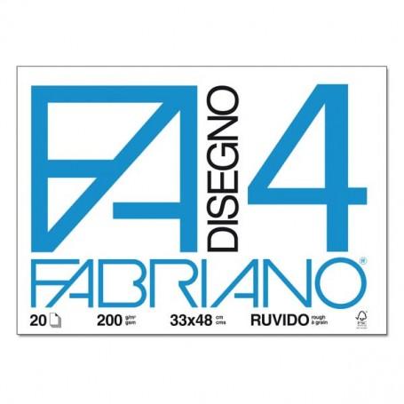 BLOCCO FABRIANO F4 20 FF. 33X48 RUVIDO