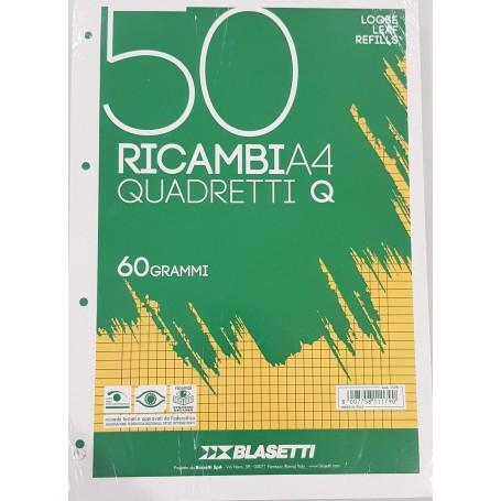 RICAMBI A4 BIANCHI RIGO Q