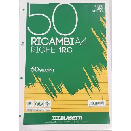 RICAMBI A4 BIANCHI RIGO 1RC