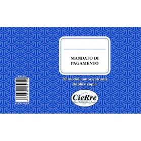 MANDATO DI PAGAMENTO 10X17 2 COPIE