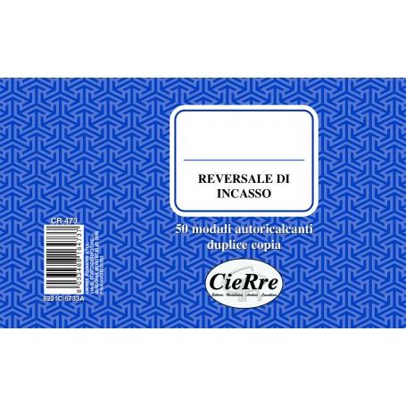 REVERSALI D' INCASSO 10X17 2 COPIE AUTORICALCANTE