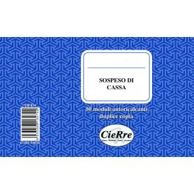 SOSPESO DI CASSA 10X17 2 COPIE