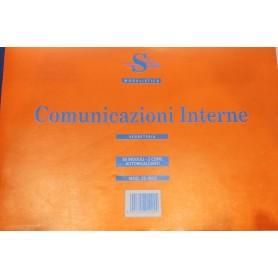 COMUNICAZIONI INTERNE 16X23 2 COPIE AUTORICALCANTI
