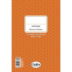 FATTURA TENTATA VENDITA 23X15 2 COPIE