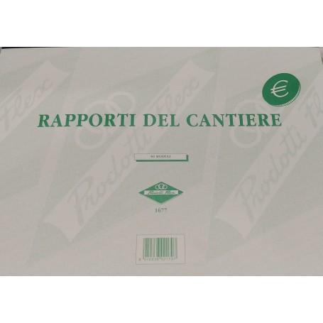 RAPPORTI DI CANTIERE 23X30 USOMANO