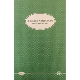 REGISTRO PROTOCOLLO ESPORTATORI 24X32