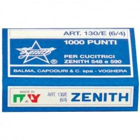 PUNTI METALLICI ZENITH 130/E 6/4 1000PZ