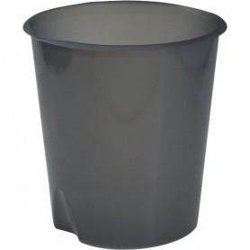 CESTINO GETTACARTE PLASTICA CHIUSO FELLOWES MODULA BLU