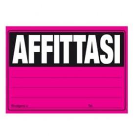 CARTELLO 23X32 AFFITTASI