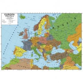 CARTA GEOGRAFICA 100X140 EUROPA