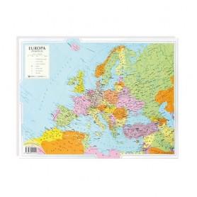 CARTA GEOGRAFICA 30X42 EUROPA