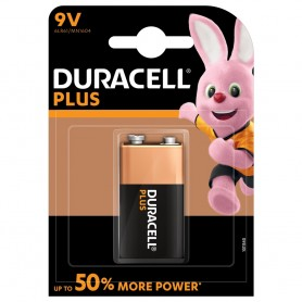 PILE 9 V DURACEL PLUS POWER