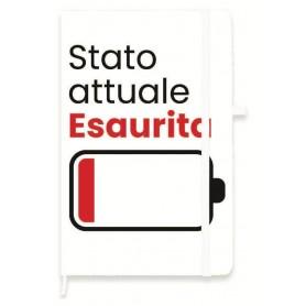 TACCUINO F.TO A6 CON ELASTICO 1R ESAURIT