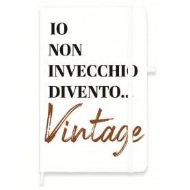 TACCUINO F.TO A6 CON ELASTICO 1R INVECCH