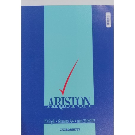 BLOCK NOTES BLASETTI ARISTON A4 1 RIGO