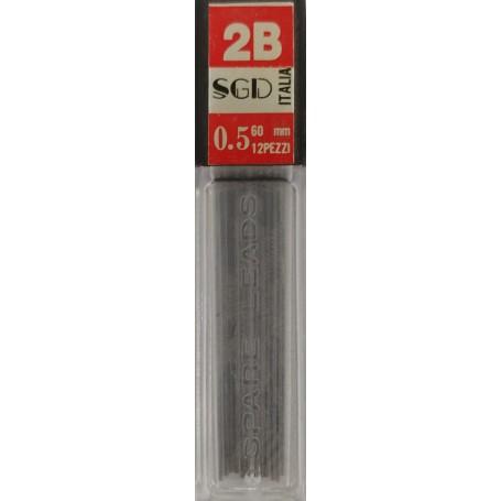 MINE SGD 0,5 MM 2B ASTUCCIO 12 MINE