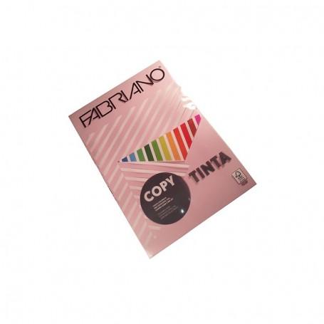 RISMA A4 FABRIANO 200 GR. ROSA COPY TINTA 100FF