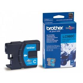 CARTUCCIA ORIGINALE BROTHER LC980 CIANO