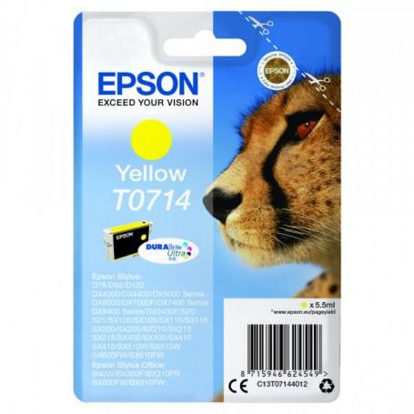 CARTUCCIA ORIGINALE EPSON T0714 YELLOW