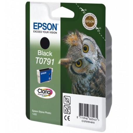CARTUCCIA ORIGINALE EPSON T0791 BK