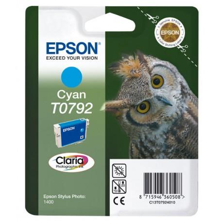CARTUCCIA ORIGINALE EPSON T0792 CIANO