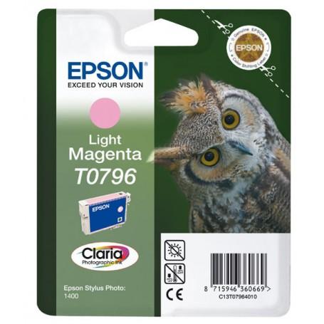 CARTUCCIA ORIGINALE EPSON T0796 L.MAGENT