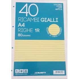 RICAMBI A4 1 RIGO GIALLI BLASETTI