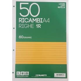 RICAMBI A4 1 RIGO BIANCHI 60 GR