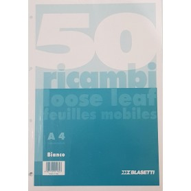 RICAMBI A4 BIANCHI 60 GR