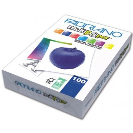 RISMA A3 FABRIANO MULTIPAPER 100 GR. BIANCA 500FF